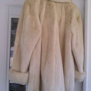 Jackets & Blazers - White mink Jacket